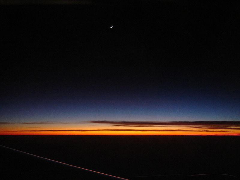 الغسق حالة من حالات الإضاءة في الطبيعة