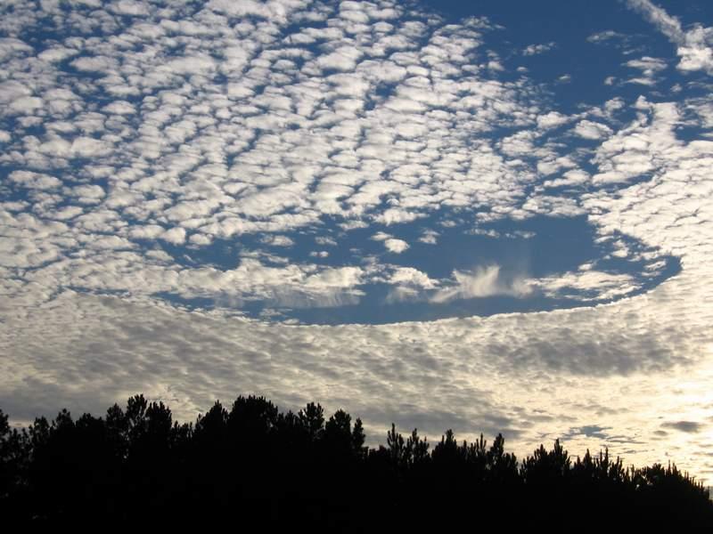السماء وهي من اهم مصارد الضوء في الطبيعة