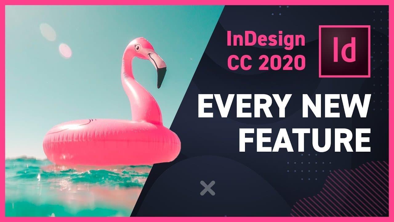 InDesign2020 الجديد في اصدارات ادوبي 2020