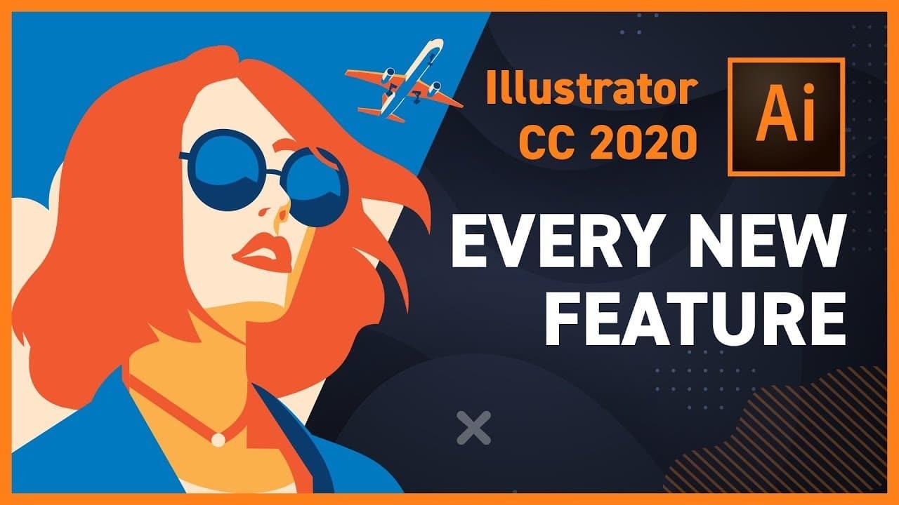 illustrator2020 الجديد في اصدارات ادوبي 2020