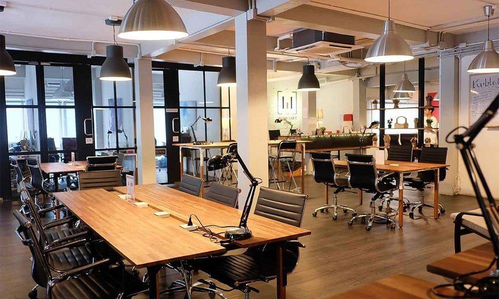 استخدام علم نفس الألوان - تصميم مكاتب العمل والشركات