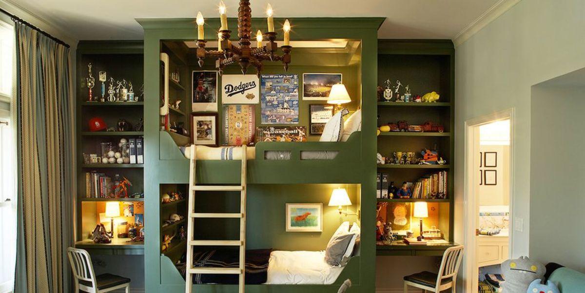 التصميم الداخلي لغرفة الأطفال ألوان غرفة أطفال