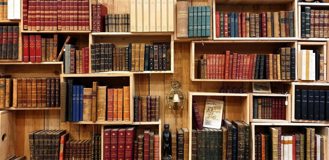 إكسسوارات الزينة للمكتبة المنزلية