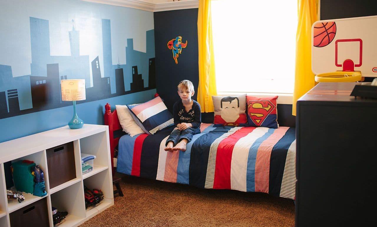 التصميم الداخلي لغرفة الأطفال - ملصقات غرفة أطفال