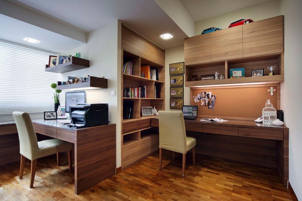 ديكور غرفة الدراسة