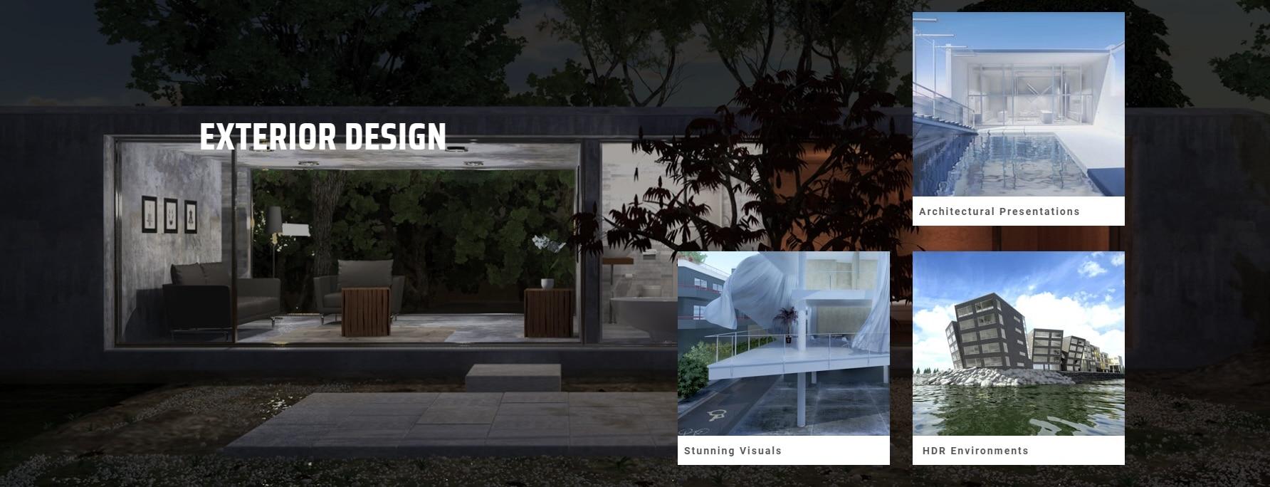 الإظهار المعماري عرض المشاريع المعمارية باستخدام الماكس - 3ds Max