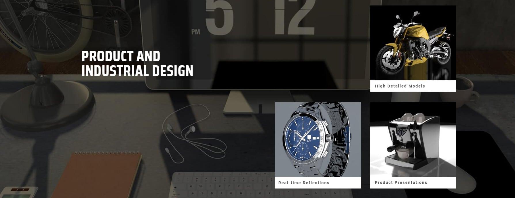 عرض المشاريع الصناعية والآلات (Product and Industrial Design)