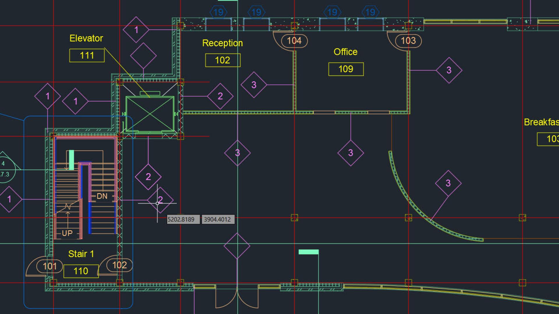 برامج تصميم معماري أوتوكاد