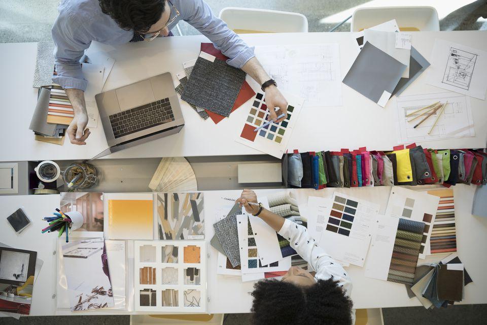 دراسة التصميم الداخلي