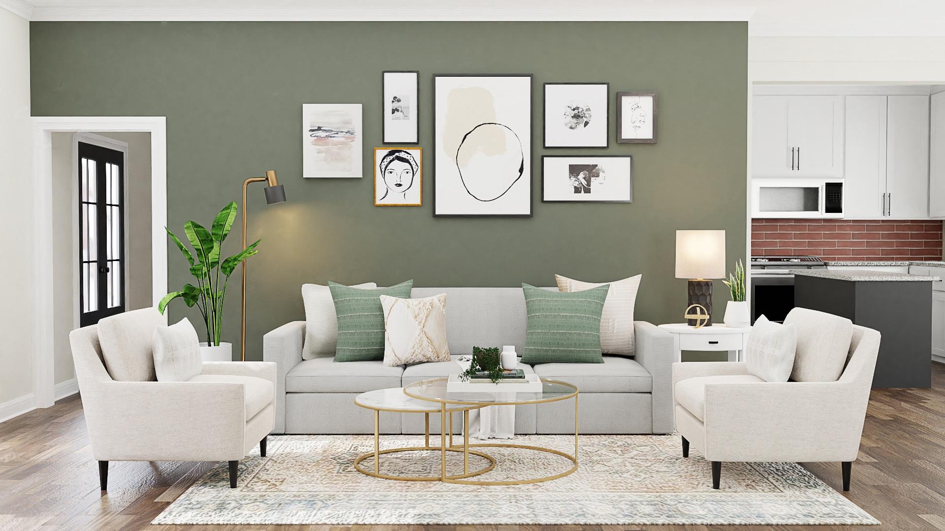 اختيار اللون المناسب لغرفة المعيشة