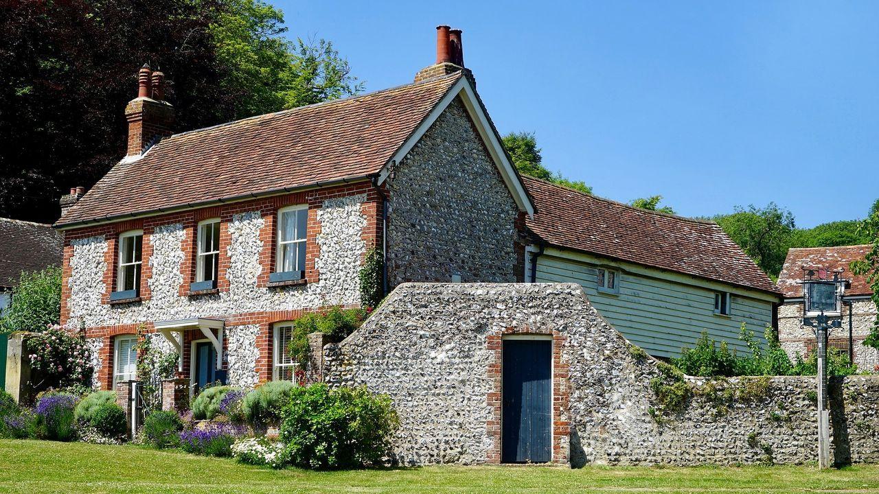 المنازل الريفية