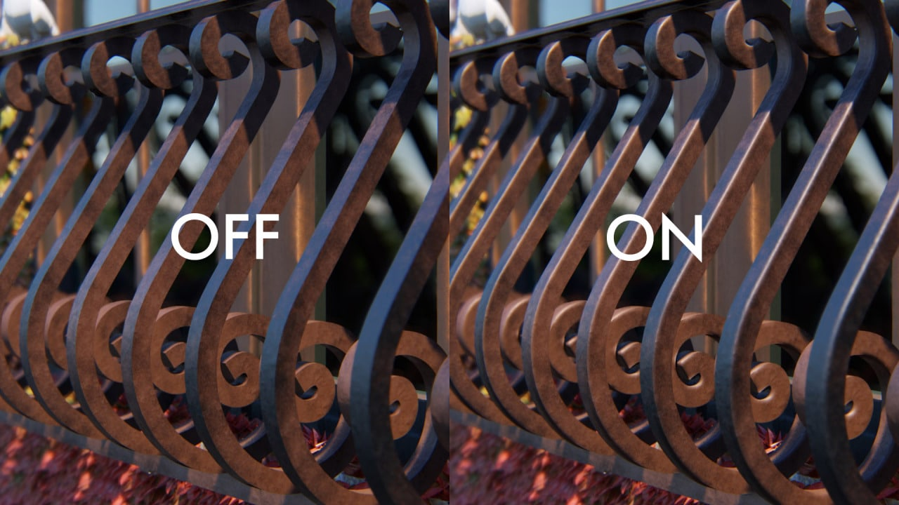 تنعيم الأطراف الحادة Soften hard edges - برنامج لوميون المعماري
