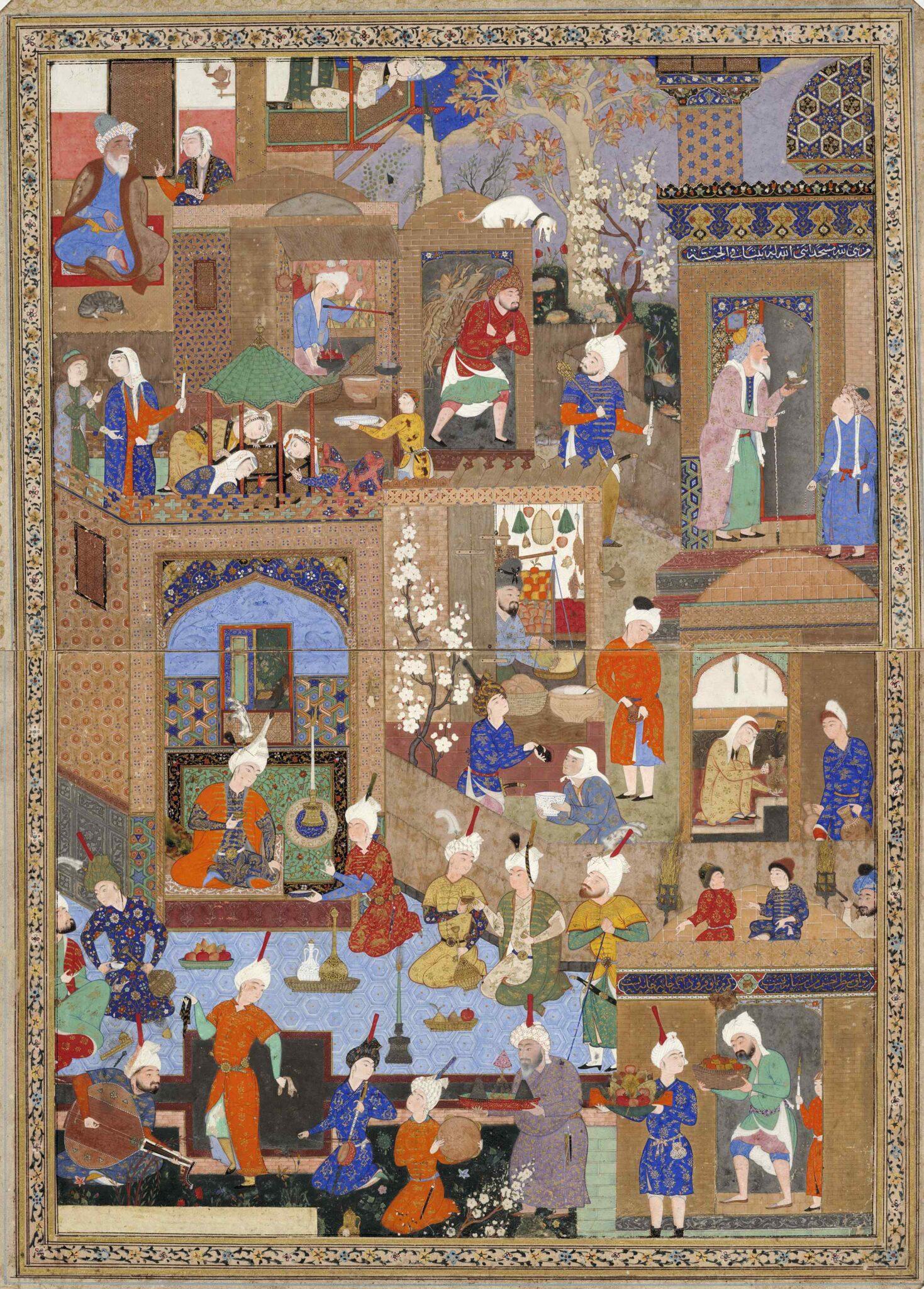 مفهوم المنمنمات الإسلامية