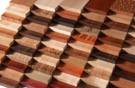 اختيار أنواع الأخشاب