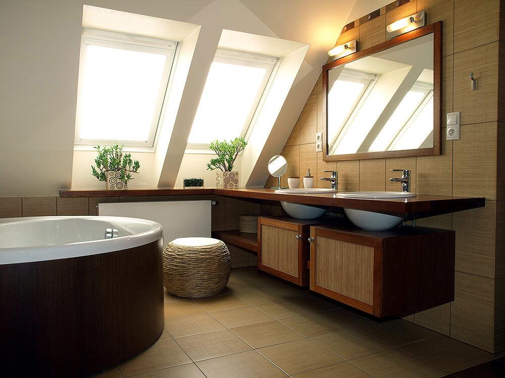 التصميم الداخلي للحمامات