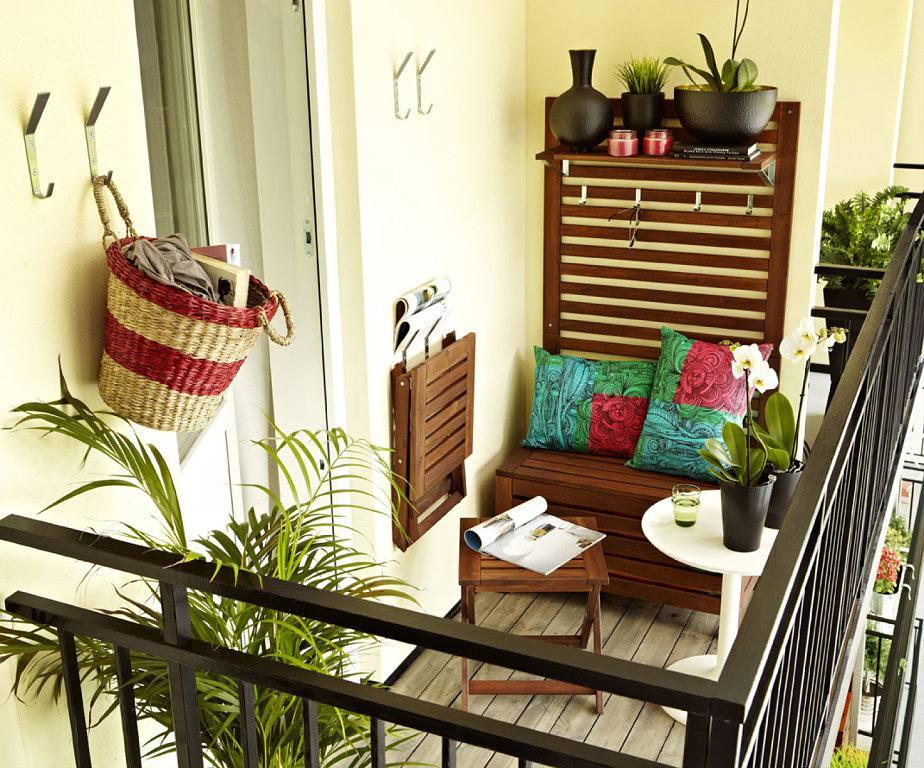 تصميم ديكور شرفة المنزل