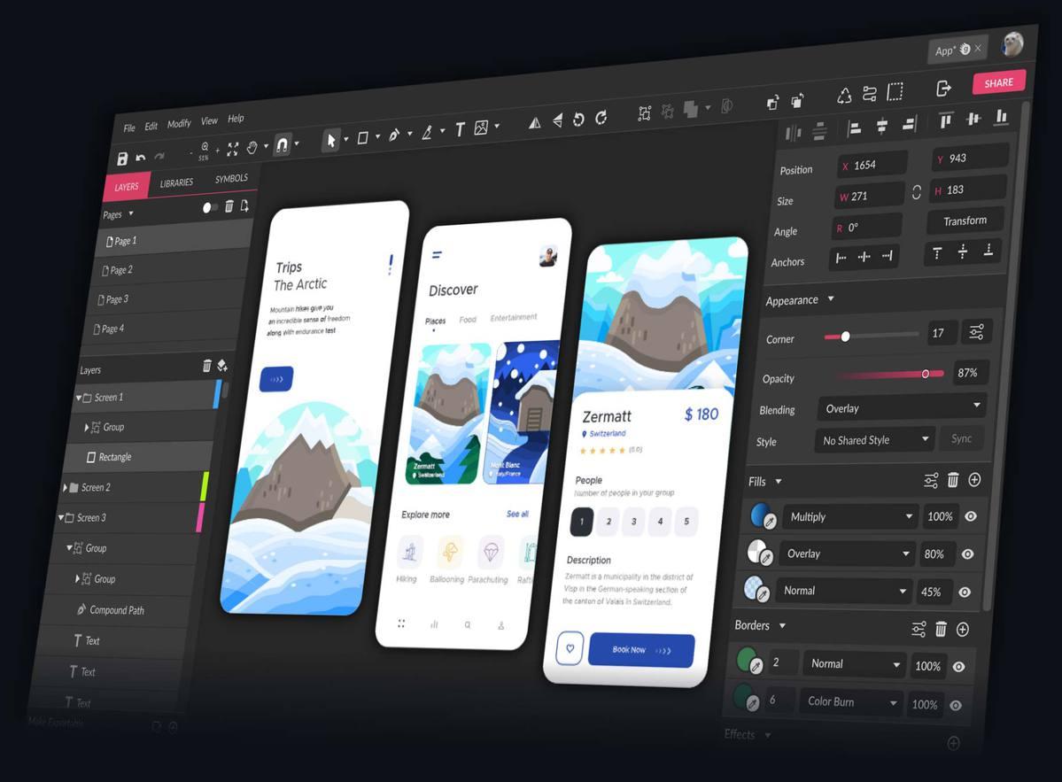 تصميم واجهة المستخدم UI
