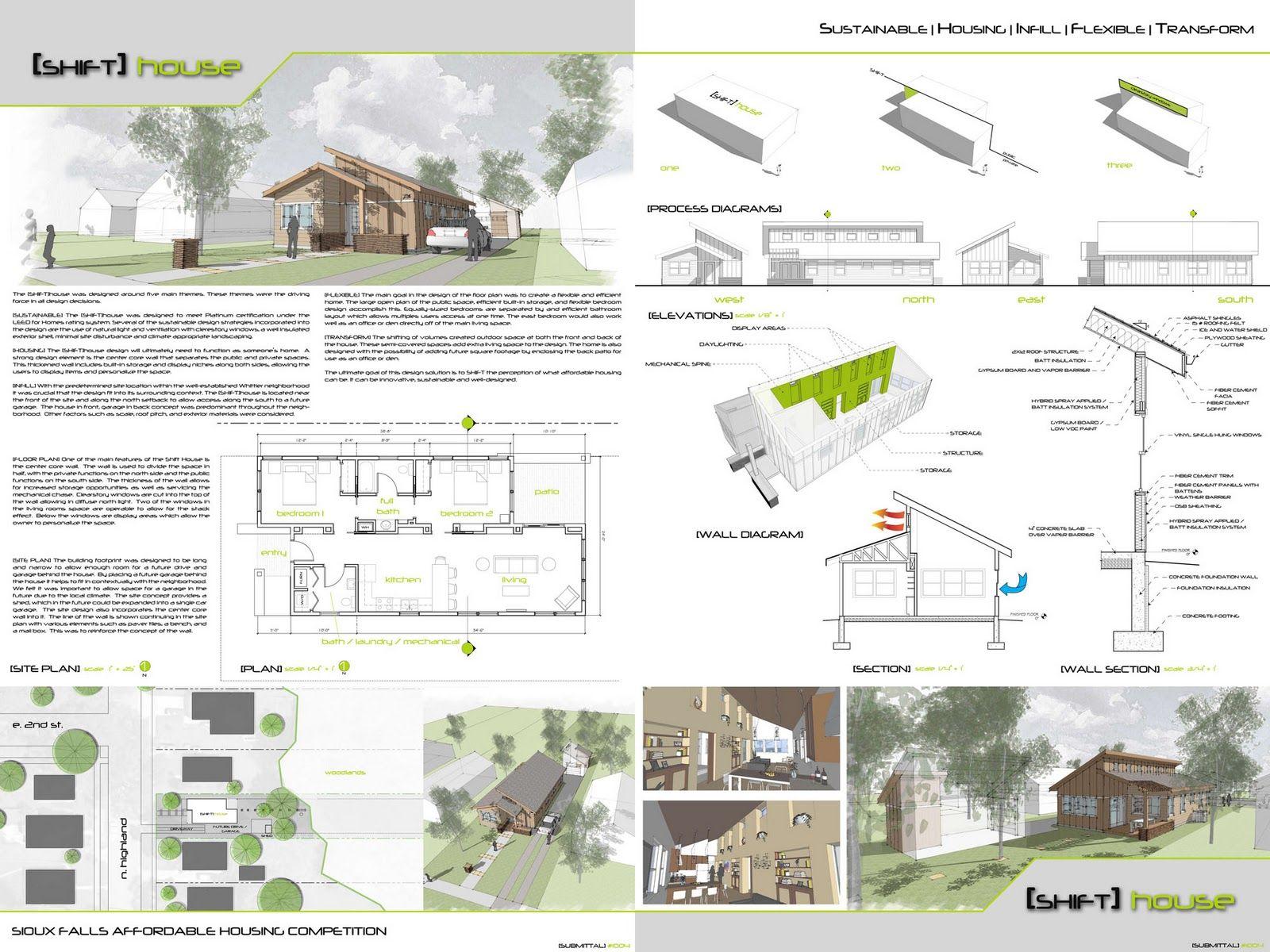 عرض تقديمي للمشروع المعماري