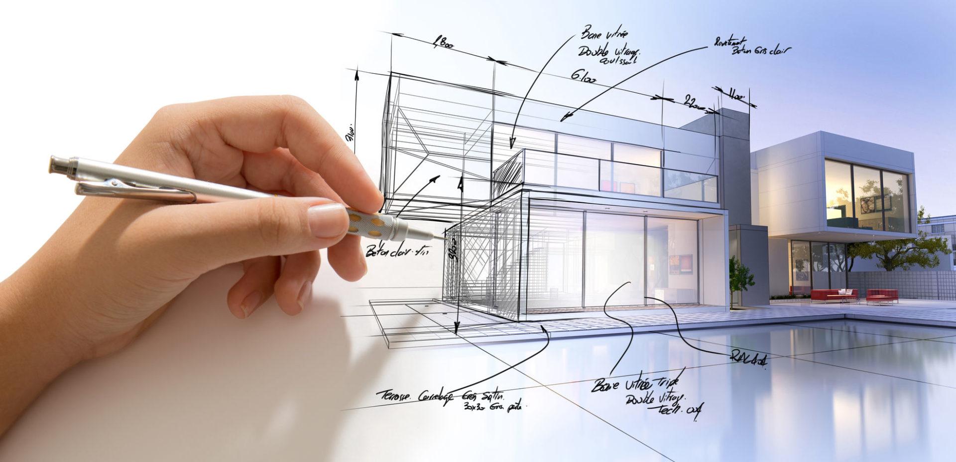 تقنيات الإظهار المعماري